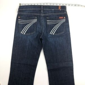 7 for all Mankind Jeans - 7 for all mankind dojo jeans 27x28.5
